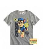 T-shirt manches courtes - Garçon 2-14 ans - Veti famille