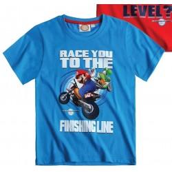 T-shirt MARIO Bleu