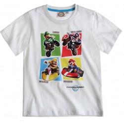 T-shirt MARIO Kart blanc