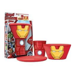 Iron MAN Set petit déjeuner...