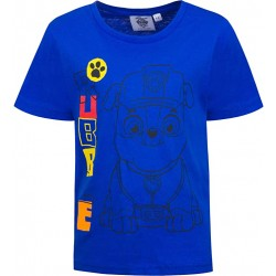 T-shirt bleu La Pat...