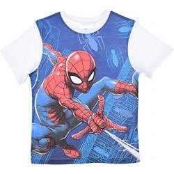 T-shirt blanc Spiderman...