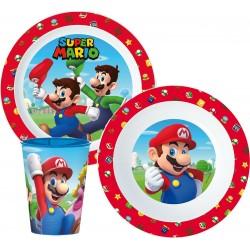 Ensemble repas Mario 3 pièces