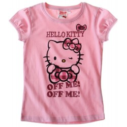 T-shirt HELLO KITTY rose...