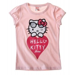 T-shirt HELLO KITTY  Diva rose
