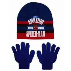 Spiderman bonnet et gants