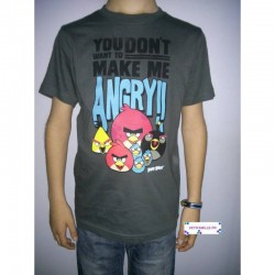 T-shirt Angry Birds manches...