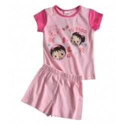 Pyjashort rose Kai Lan