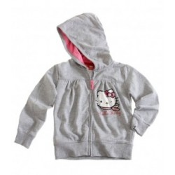 Hello Kitty Sweat zippé à...