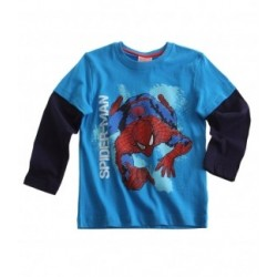 Spiderman - T-shirt manche...