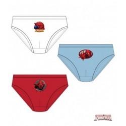 Lot de 3 slips Spiderman du...