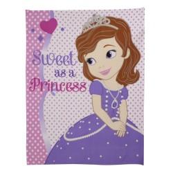 Plaid polaire Princesse...