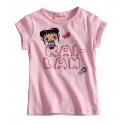 Kai Lan T-shirt rose