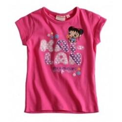 Kai Lan T-shirt rose fushia