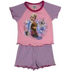 pyjama court Elsa, Anna et...
