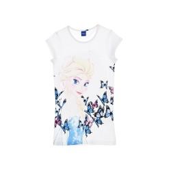 Frozen Chemise de nuit BIG t-shirt blanche Reine des Neiges