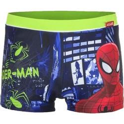 Maillot de bain boxer vert Spiderman