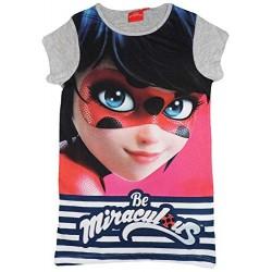 LadyBug Chemise de nuit BIG t-shirt gris Miraculous