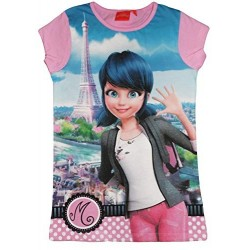 LadyBug Chemise de nuit BIG t-shirt rose Miraculous