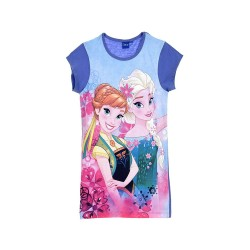 Frozen Chemise de nuit BIG t-shirt bleu Reine des Neiges
