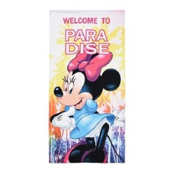 Serviette de plage Minnie WELCOME fille microfibre