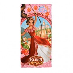 Serviette de plage elena avalor rose  fille microfibre