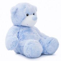 Peluche ourson bleu 23cm