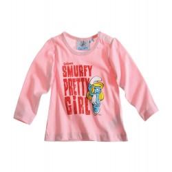 T-shirt rose bébé...