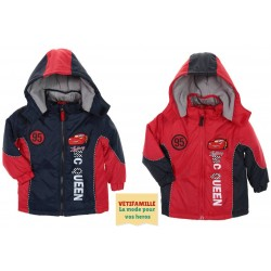 Manteau Parka Cars Disney