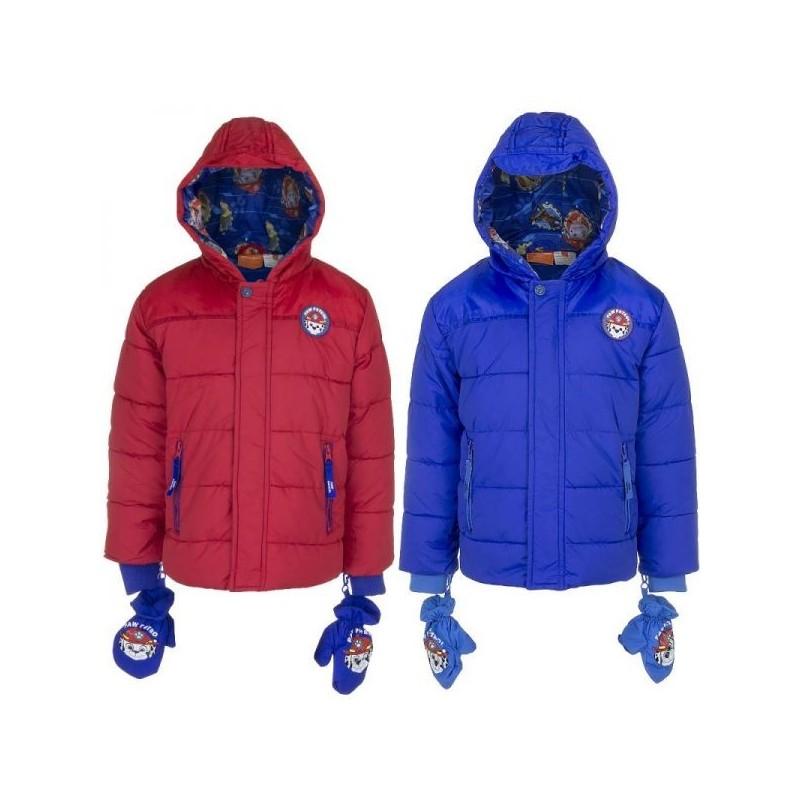 b43062e52a8bb doudoune pat patrouille, manteau pat patrouille Couleur Rouge Taille ...