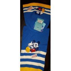 Mickey Disney ensemble echarpe bonnet