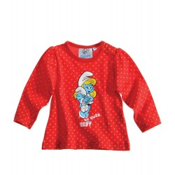Schtroumpfette T-shirt rouge