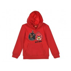 Sweat à capuche Angry Bird rouge