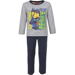 Pyjama long Paw Patrol Chase 2 avec son casque