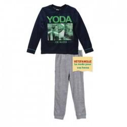 Pyjama velour Star Wars Yoda