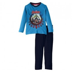 Pyjama long Avengers Bleu ciel
