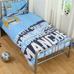 Manchester City FC Housse de couette + taie