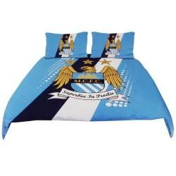 Parure de lit  Manchester City FC Housse de couette 2 personnes