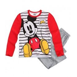 Pyjama long Disney Mickey Rouge