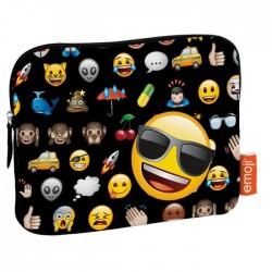 Smiley Pochette 20x25x2cm pour rangement tablette