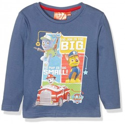 Pat Patrouille ( Paw Patrol ) T-shirt manches longue bleu