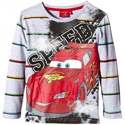 T-shirt Manches longues CARS Disney Gris