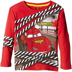 T-shirt Manches longues CARS Disney Rouge