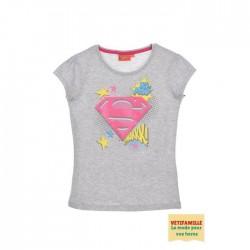 T-shirt Superman fille