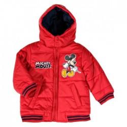 Blouson  Doudoune Mickey rouge