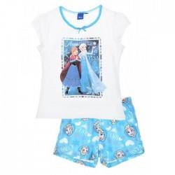 Pyjama court fille LA REINE DES NEIGES