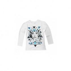 Tshirt Violetta manches longue Blanc