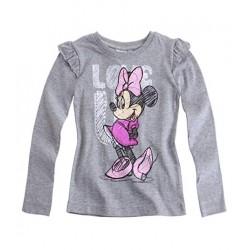 Disney Minnie T-shirt manches longues gris