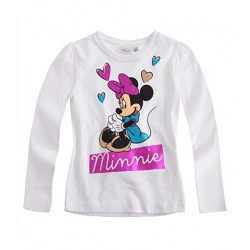 Disney Minnie T-shirt manches longues blanc
