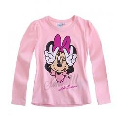 Disney Minnie T-shirt manches longues rose
